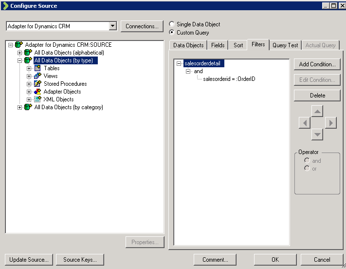 Scribe DTS Source Configuration Wizard 3